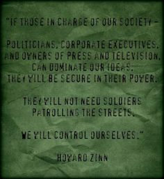 Howard Zinn Quote