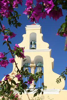 Church Bells of Corfu Island, Ionian Sea, Greece