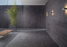 There are a few things you have to know when installing large format tiles. The use of large format patterns creates dynamic looks; dramatically increasing the visual impact of a space. Shower Wall, Tile Layout, Wall Tiles, Shower Wall Tile, Flooring, Large Format Tile, Large Format, Floor Installation, Tile Layout Patterns