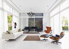 Best eames lounge chair images home interior design house