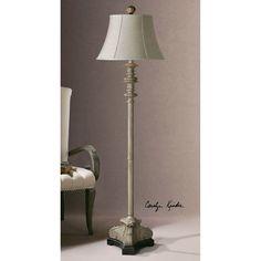 Uttermost Nerio Gray Floor Lamp 28243
