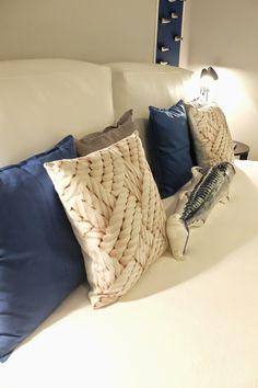 Sardine House - Alfama - Lisbon Grey, Blue, Black and White Home Bordallo Pinheiro, Ikea, Camões, Galo de Barcelos, Fish, Cushions Isabel Pires de Lima - Interior Design