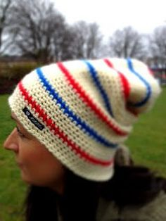 Pippimössa i baggymodell. Knitted Hats, Crochet Hats, Pippi Longstocking, Chrochet, Knitting, Pattern, Color, Beanies, Entertainment