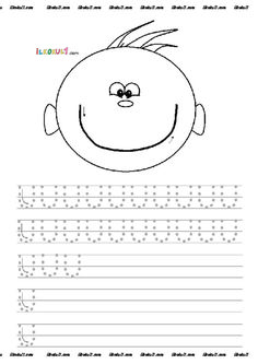 thumbnail of DİK TEMEL HARFLER ÇİZGİ ÇALIŞMALARI 6 Preschool Writing, Preschool Classroom, Kindergarten Worksheets, Preschool Activities, Pre Writing, Writing Skills, Teaching Kids, Kids Learning, Writing Practice Worksheets