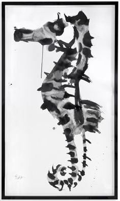 Rorschach seahorse