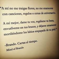 cartas al tirmpo. Mind of Brando