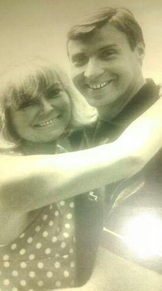 Peter Alexander und Hilde ..sehr jung