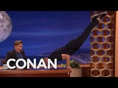 Jamie Dornan Turns Conan's Desk Into A Pommel Horse - CONAN on TBS - YouTube