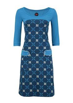 8310f072 ROYAL retro go blue Tante Betsy kjole Beskedne Kjoler, Kjoler Til Arbejde,  Maxi Kjoler