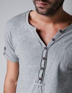 CAMISETA PANADERO BOLSILLO - Homewear - Hombre - ZARA