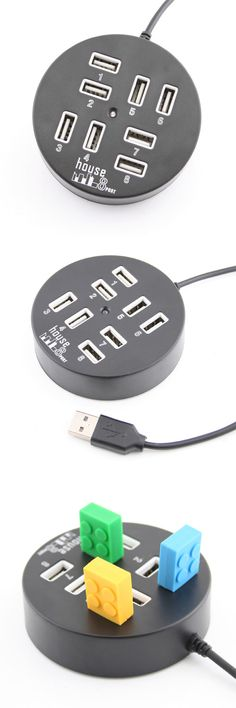 USB 8 Port Hub Circle http://www.usbgeek.com/products/usb-8port-hub-circle