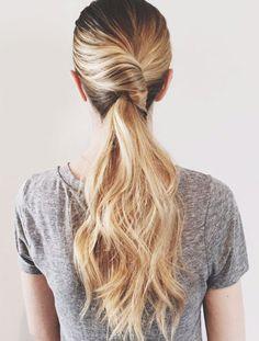 Twist pony #hairstyles #beautyinthebag