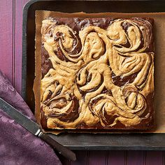 These extra-peanut-buttery, extra-chocolaty brownies are surprisingly low-cal. And with possibilities for sugar and flour substitutes, you can customize them to match special dietary needs.