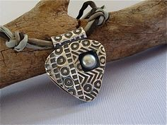 Pearl Dimensions Pendant by Silvermaven on Etsy, $95.00