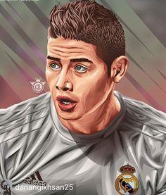 James Rodriguez, Football Soccer, Football Players, Migos Rapper, Soccer Drawing, Stoner Art, Football Pictures, Da Nang, Sports Art