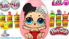 Huevo Sorpresa Gigante de Lil Heartbreaker de LOL Serie 2 Lil Sisters Pl...