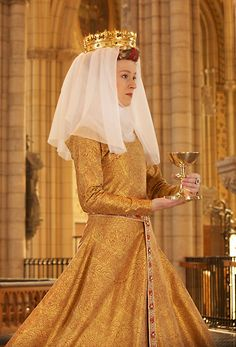 Reproduction of the golden dress of Queen Margaret I of Denmark from Duran Textiles - See more at: http://fripperiesandfobs.tumblr.com/post/24270863049/reproduction-of-the-golden-dress-of-queen-margaret#sthash.mc0tfHVj.dpuf