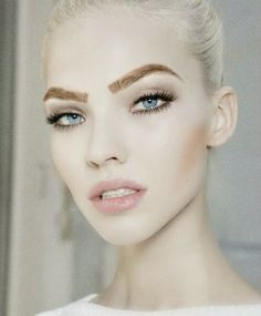 How do you feel about these bold brown eyebrows?