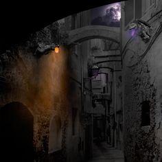 Première ébauche de Zonsrme, ville de l'ombre.