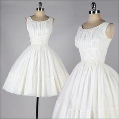 r e s e r v e d /// vintage 1950s dress . by millstreetvintage