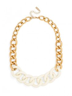 Silicon Valley Links Necklace | BaubleBar