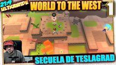 Secuela de Teslagrad 💍 WORLD TO THE WEST #1 Gameplay Español Ultrawide 2...