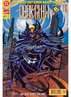 DC gegen Marvel Comics Nr. 4: DARK CLAW (Amalgam Comic) 1996.