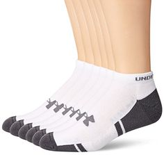 Men's Clothing - Under Armour Mens Resistor NoShow Socks 6Pack >>> Check this awesome product by going to the link at the image. (This is an Amazon affiliate link)