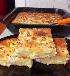 Ανεβατή ζυμαρόπιτα!!!Υπέροχη εύκολη και αφράτη πιτούλα !!! ~ ΜΑΓΕΙΡΙΚΗ ΚΑΙ ΣΥΝΤΑΓΕΣ 2 Greek Recipes, Lasagna, Feta, Macaroni And Cheese, Food And Drink, Cooking, Breakfast, Ethnic Recipes, Logos