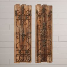 August Grove Eudora 2 Piece Enchanting Gate Wall Décor Set & Reviews | Wayfair