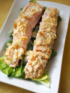 Salad Recipes, Cake Recipes, Fresh Rolls, Asparagus, Sushi, Salads, Good Food, Food And Drink, Tasty