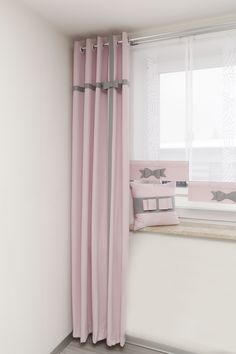 Girl Room, Baby Room, Kids Room Curtains, Ikea Kids Room, Modern Lounge, Blinds For Windows, Curtain Rods, Window Treatments, Decoration