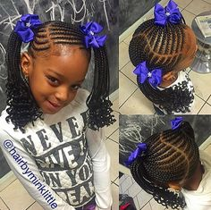 Beautiful Kids Braided Hairstyles For Your Little Girls This Christmas. Here are kids braided hairstyles that will beautify your little girls this Christmas. Cute Little Girl Hairstyles, Girls Natural Hairstyles, Baby Girl Hairstyles, Natural Hairstyles For Kids, Kids Braided Hairstyles, African Braids Hairstyles, Natural Hair Styles, Teenage Hairstyles, Hairstyles Pictures