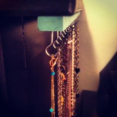 #diy necklace holder