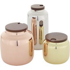 capsule canisters  | CB2