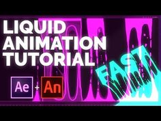 LIQUID ANIMATION TUTORIAL - YouTube