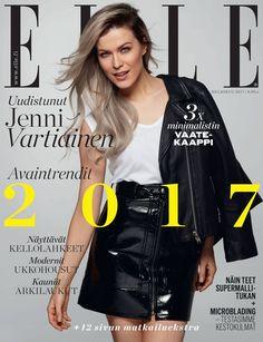 Jenni Vartiainen, Elle Magazine [Finland] (February 2017)