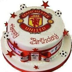 manchester united cake more utd cakes cake projects groom s cake fave ...