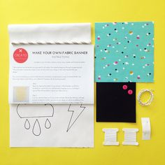 Cotton Candy Dance - Find out about Create! Craft kits - the different kits, how the collaboration came about and get tips and inspiration for your own creations!
