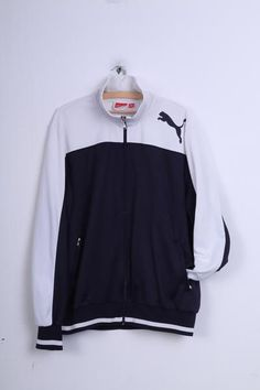 For sale PUMA Mens XXL Sweatshirt| Material: 100% Polyester| Size from label: XXL| Condition: 5+/6  Dimensions: inches / cm Chest (underarm to underarm): - 29 i