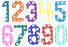 Free Numbers & Letters for plastic canvas
