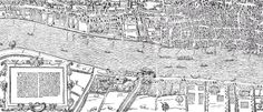 The project brings 16th century London into the present.