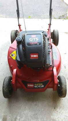 For Sale: Toro mower/mulcher - Magnesium deck, will not rust. Well maintained. 6.0hp. Great mower. More pictures below.