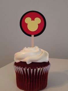 A personal favorite from my Etsy shop https://www.etsy.com/listing/219857090/mickey-mouse-inspired-cupcake-toppers