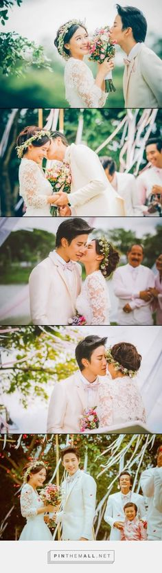 Beautiful stills from the Kiss Me finale #thai #drama