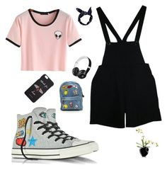 """Untitled #1250"" by giselaturca on Polyvore featuring American Apparel, Converse, Gucci, Beats by Dr. Dre, Boohoo and Eva Solo"