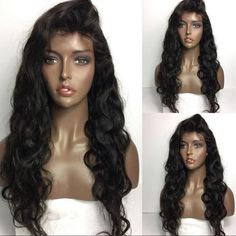 68.60$ Buy now - http://aliqvi.worldwells.pw/go.php?t=32773197571 - 7A Density 130% Cheap Human Hair Full Lace Wig For Black Women Brazilian Virgin Hair Wave Hair Glueless Lace Front Wigs