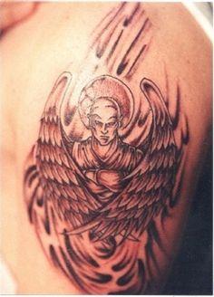 male guardian angel tattoo Car Tuning