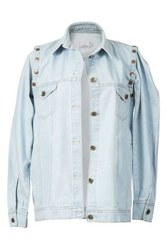 Colete e jaqueta jeans (com manga removível) da marca Coleteria ♡ - Coletes femininos e infantis - Coleteria | sempre♡