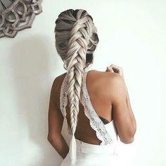 Immagine di hair, braid, and hairstyle